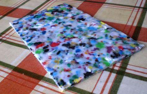 Plastic moulding experiments—Idea for a