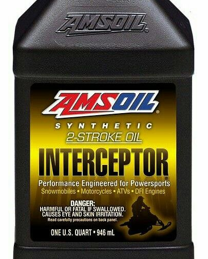 Amsoil Interceptor Synthetic 2 Stroke Oil Is Engineered For Use In
