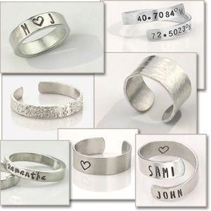 Impressart Aluminium Blanks for Metal Stamping and Jewellery Design
