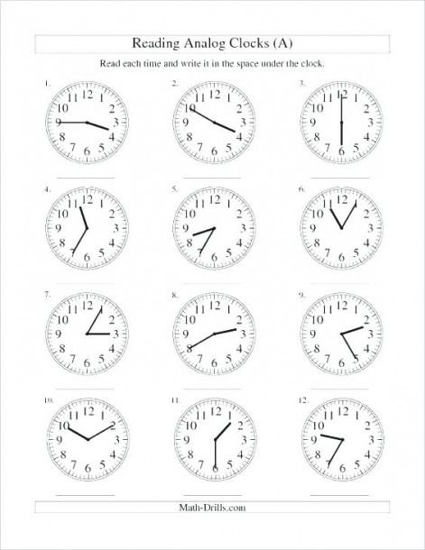 Telling Time Worksheets 2nd Grade Printable Time Worksheets Clock Worksheets Telling Time Worksheets