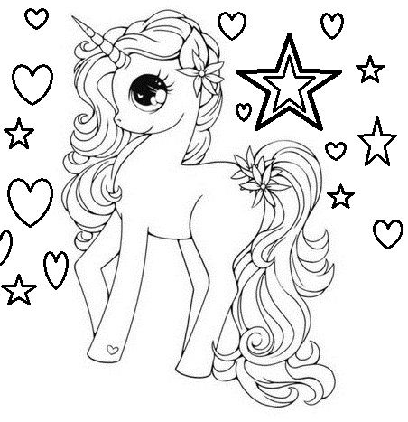 Dibujos De Unicornios Para Colorear Results For Yahoo Image Search Results Cute Drawings Art Colouring Pages