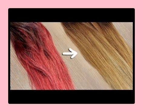 Haarfarbe entferner