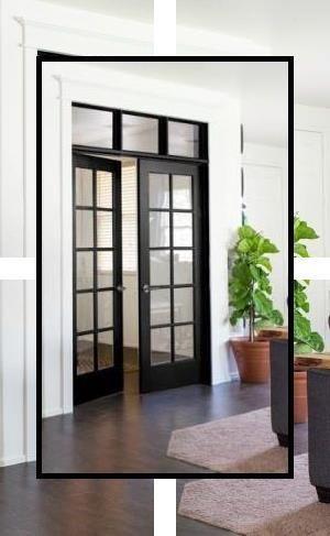 Contemporary Entrance Doors Installation Of The French Interior Doors Front Door Stylescontemporary In 2020 Internal French Doors French Doors Interior Doors Interior