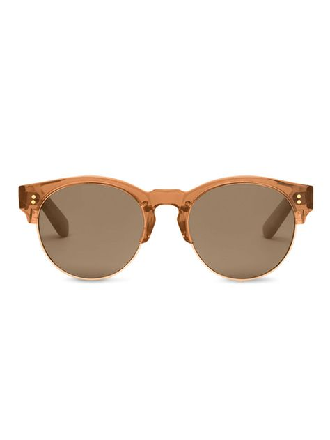 The Charlie Rae in Rose Crystal from #TOMSeyewear echos the modernists' style of the late 60's.