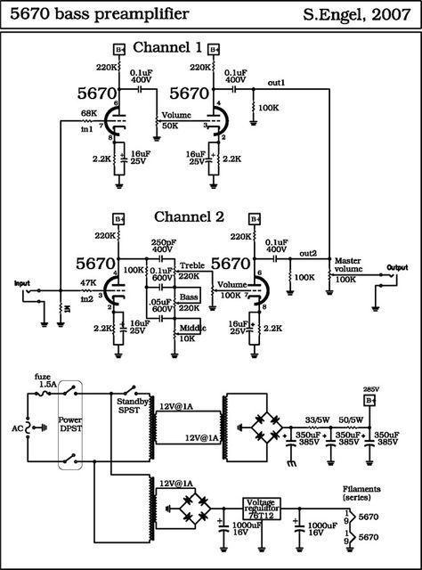 Headphone Tube Amplifier