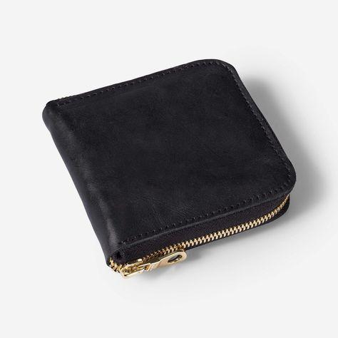 Meskel Square Zip Wallet - Black