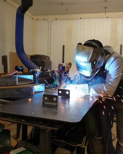 conferencetable Last few welds.... I've pulled...