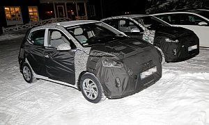 2020 Hyundai I10 Spied Exhibits Evolutionary Design Launched In