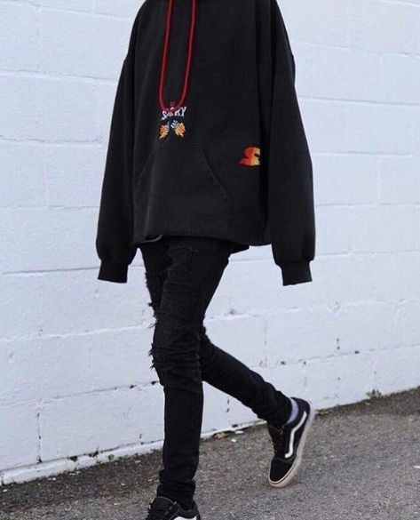 black aesthetic #AestheticFashion