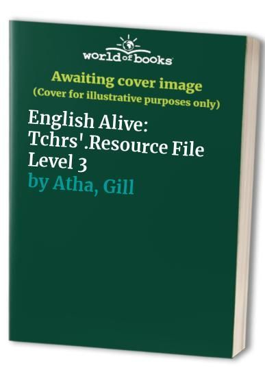 English Alive: Level 3: Tchrs'.Resource File von Barry Scholes - HarperCollins Publishers - ISBN 10 0003143317 - ISBN 13 0003143317 - This… - #alive #barry #english #level #resource #scholes #tchrs - #new