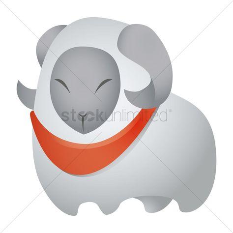 Sheep vectors, stock clipart , #SPONSORED, #vectors, #Sheep, #clipart, #stock #affiliate