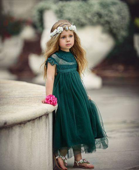 Amanda Dress Green