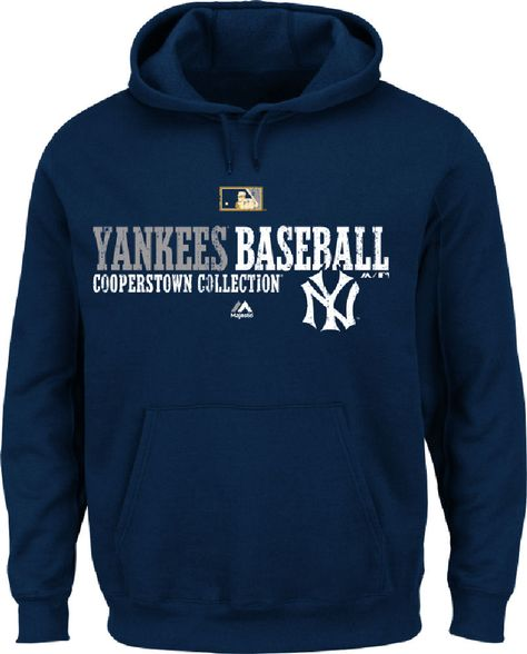 York Yankees Mens Navy 2 Cool Pullover