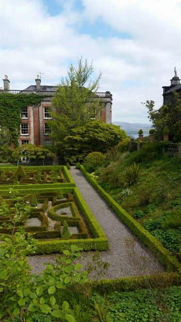 Schloss Bantry Irland Natur Pur Natur Schloss