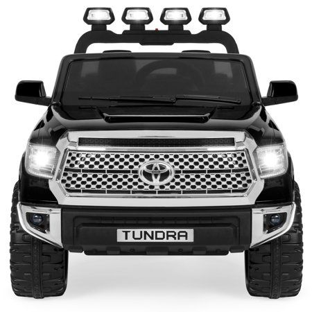 Best Choice Products 12v Kids Battery Powered Remote Control Toyota Tundra Ride On Truck Black Walmart Com Tundra Truck Toyota Tundra Tundra