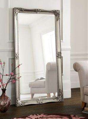 Bedroom Mirrors Body Mirror Pewter Floor Standing Mirror From