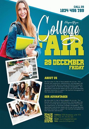 College Fair Flyer Template Free