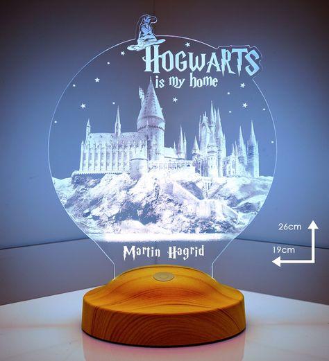 Harry Potter (Hogwarts) Personalized 3D Light