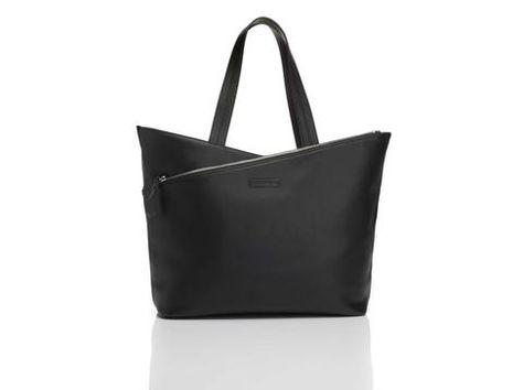 Athena Leather Laptop Tote Bag13 Black Laptopbags Co Uk