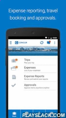 Concur Android App  PlayslackCom  Keep Track Of Your Expenses