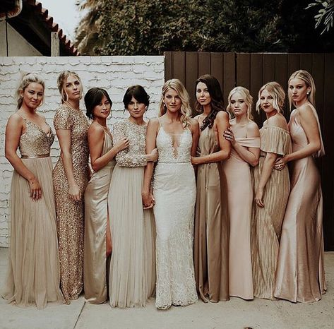 All brides want to find themselves having the most appropriate wedding day, however for this they need the perfect bridal gown, with the bridesmaid's outfits enhancing the brides dress. Here are a number of ideas on wedding dresses.