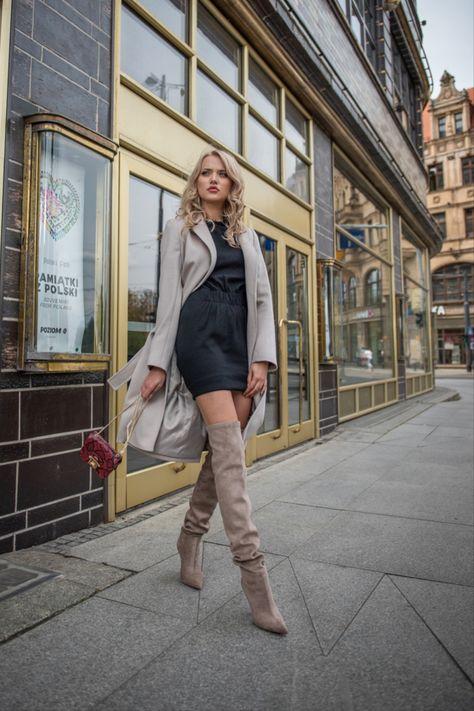 Bezowe Kozaki Za Kolano Na Szpilce Delianuova Outlet Primamoda Modne Produkty W Jeszcze Nizszych Cenach Primamoda Boots Fashion Over Knee Boot