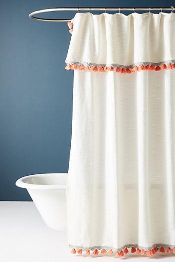 Agneta Shower Curtain With Images Boho Shower Curtain Boho