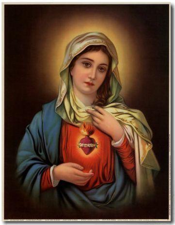 Consagración De La Familia Al Inmaculado Corazón De María Forma De Consagrar Nuestras Familia Inmaculado Corazon De Maria Madre Bendita Santísima Virgen María