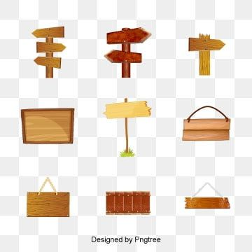 Various Wooden Road Signs And Signboard Materials Signboard Wooden Fences Png Transparent Image And Clipart For Free Download Wooden Signage Road Signs Wood Signs