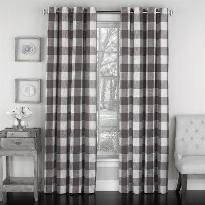 Millwood Pines Giovani Simple Elegance Vintage Check Striped Semi