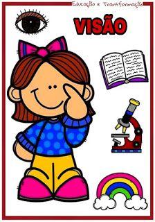 Atividades Para O Ensino Infantil Cards Os Cinco Sentidos Cinco