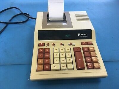 Sponsored Ebay Bmc E 2326pd Electronic 10 Key Business Calculator And Tape Printer Printer Calculator Ebay