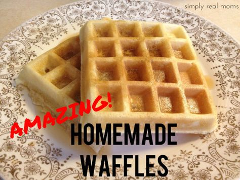 Amazing Homemade Waffles best recipe on the web easy delicious and nothing I dont already have in the kitchen 500x375 Amazing Homemade Waffles