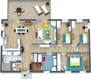 3 Bedroom Apartments Floor Plans With Images Home Design Plans