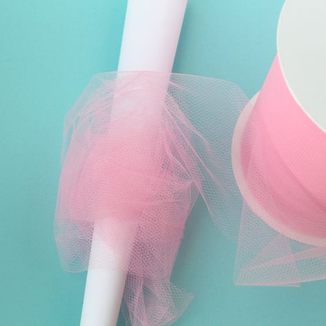 wrap tulle around cone for tulle cotton candy Candy Land Christmas, Grinch Christmas Decorations, Pink Christmas, Christmas Crafts, Xmas, Christmas Ornaments, Cotton Candy Party, Cotton Candy Crafts, Cotton Candy Tree