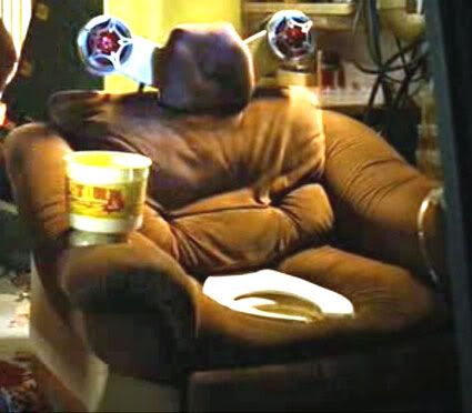 The famous toilet chair from Idiocracy!