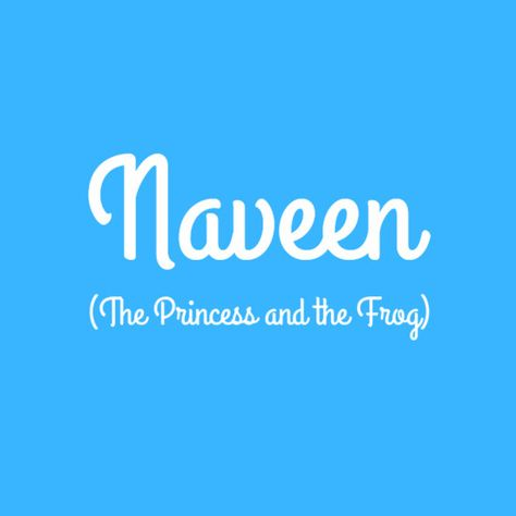 Naveen - Baby Names Inspired By Disney Characters - Photos