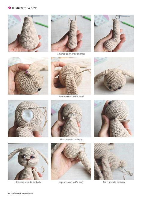 Adorable animals cute crocheted characters | Crochet | Crochet dolls