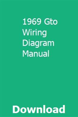 case tractor wiring diagram manual 1969 gto wiring diagram manual 1969 gto  gto  case tractors  1969 gto wiring diagram manual 1969
