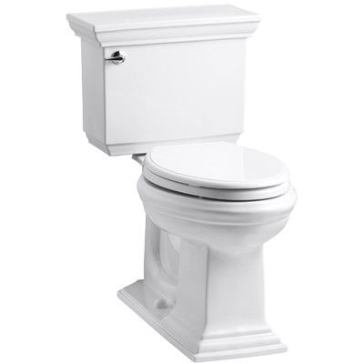 Memoirs Stately 1 28 Gpf Elongated Two Piece Toilet Kohler Memoirs Kohler Toilet Chair Height
