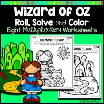 Here Are Eight Fun Multiplication Roll Multiply And Color Worksheets That Are Perfect For Math Centers O Math Coloring Worksheets Math Coloring Multiplication