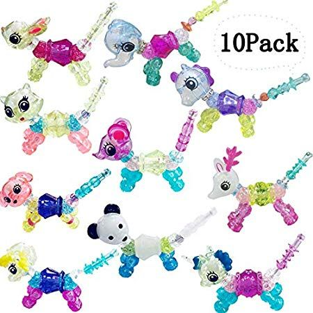 Multipurpose Baby Girl Bracelet Magic Tricks Animals Creative Elasticity Kid Toy