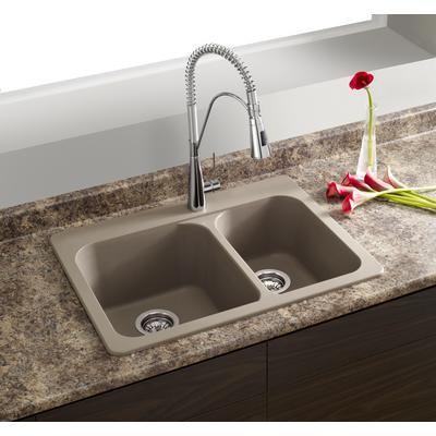 blanco silgranit natural granite composite topmount kitchen sink rh pinterest com  kitchen sink overmount or undermount