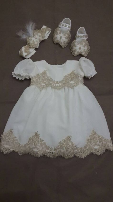 Selene Embroidery Lace Christening Gown with Bonnet and Lace Coat Baby Girls Kids Formal Wedding Birthday Party Bridesmaid Dress Baby Baptism Gown