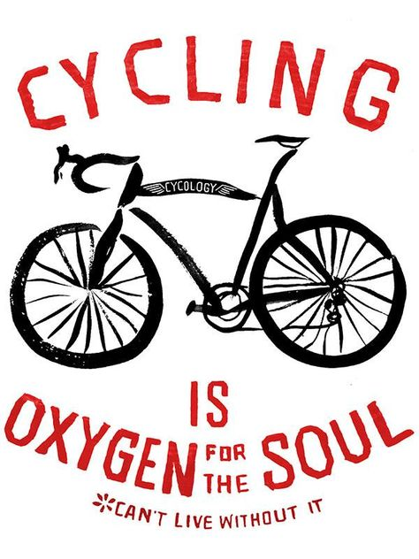 Oxygen for the Soul Mens Grey T shirt | Cycology Clothing