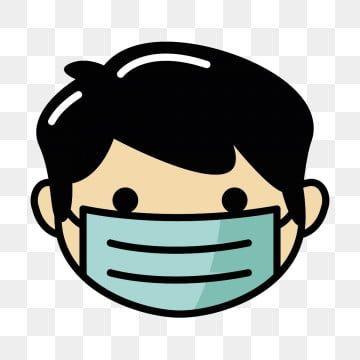Wearing Mask Design Illustration Wearing Mask Wearing Mask Design Wearing Mask Illustration Png And Vector With Transparent Background For Free Download Illustration Design Mask Design Vector Artwork