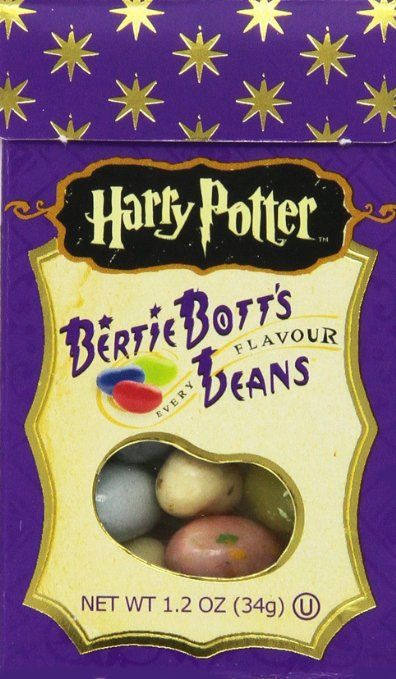 Amazon.com : Harry Potter Bertie Botts Every Flavor Beans, 1.2oz boxes ~ 6 Pack : Jelly Beans : Grocery & Gourmet Food