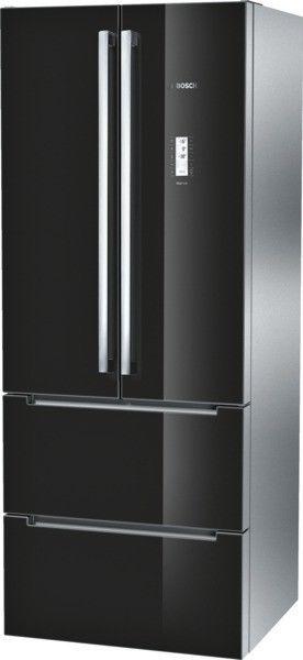Bosch Kmf40sb20 Doors Black Cool Combi Fridge Freezer French Door Nofrost Bosch Door Color French Doors