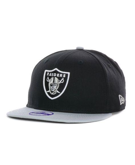 New Era Kids  Oakland Raiders Baycik 9FIFTY Snapback Cap  9ebc75458