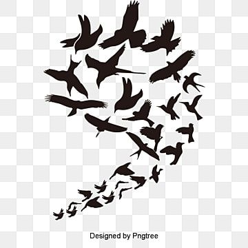 Vector Tattoo Bird Wings Of The Pro Wing Clipart Tattoo Vector Bird Vector Png Transparent Clipart Image And Psd File For Free Download In 2021 Flying Bird Silhouette Birds Flying Bird Clipart